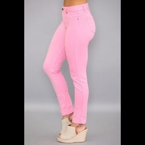 NWT! Soft pink skinny jeggings by Pink Lily
